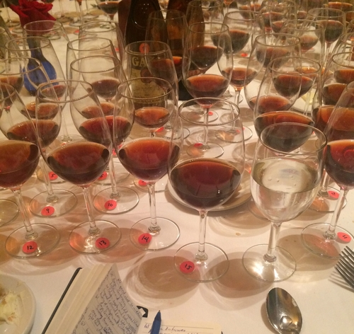 Getting your head in the wine (dinner) game